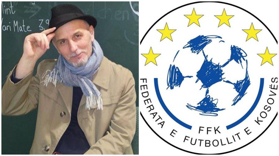 Ky është personi që e punoi logon e re të FFK së  e cila nuk u prit aspak mirë nga publiku
